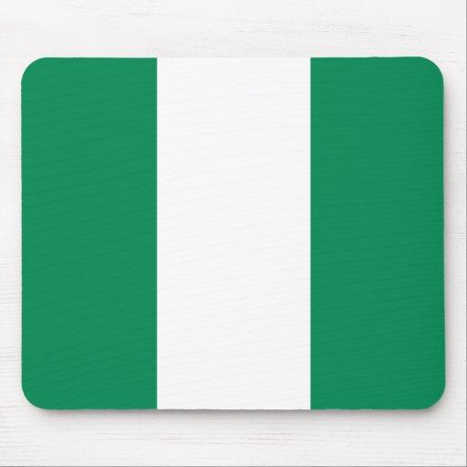 Nigeria Flag Mousepad