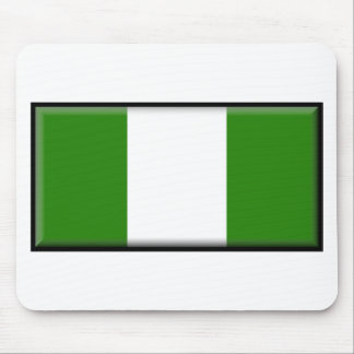 Nigeria Flag Mouse Pads