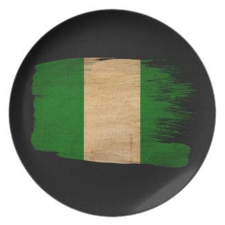 Nigeria Flag Party Plates