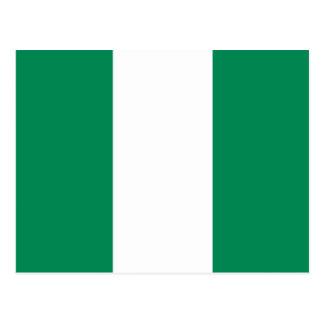 Nigeria Flag Postcard
