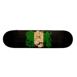 Nigeria Flag Skate Board Deck