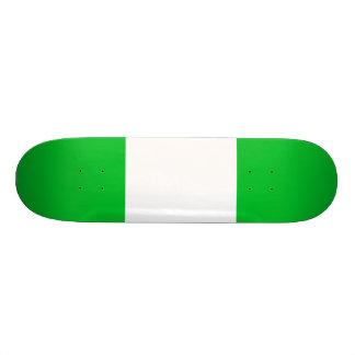 Nigeria Flag Skate Deck