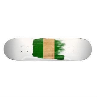 Nigeria Flag Skateboard