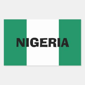 Nigeria* Flag Sticker