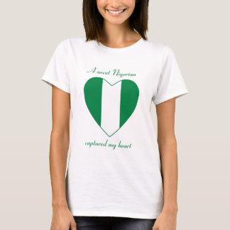 Nigeria Flag Sweetheart T-Shirt