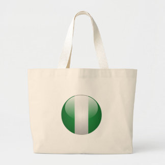 Nigeria Flag Tote Bag