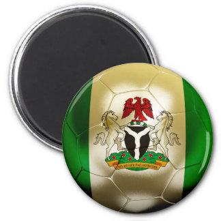 Nigeria Football 2 Inch Round Magnet