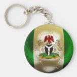 Nigeria Football Key Chain