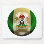 Nigeria Football Mouse Pad