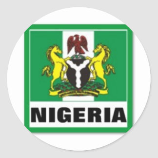 Nigeria Gift (Africa) Classic Round Sticker