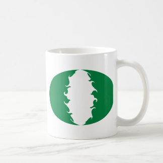 Nigeria Gnarly Flag Mug