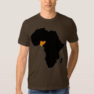 Nigeria Heart of Africa T-Shirt