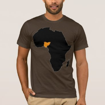 Valentines Themed Nigeria Heart of Africa T-Shirt