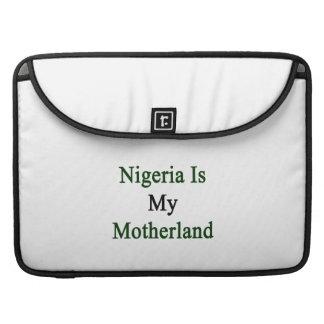 Nigeria Is My Motherland Sleeves For MacBooks