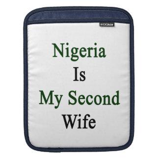 Nigeria Is My Second Wife iPad Sleeves