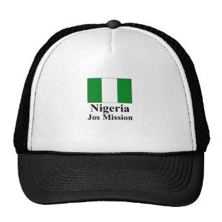 Nigeria Jos Mission Hat
