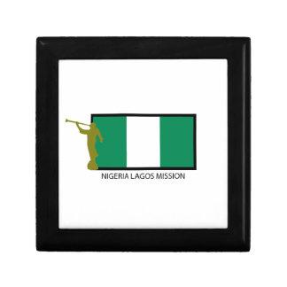 NIGERIA LAGOS MISSION LDS CTR KEEPSAKE BOX