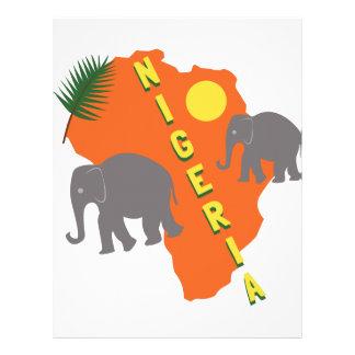 Nigeria Letterhead