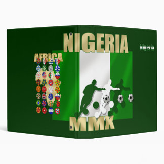 Nigeria Logo in the colors of the Nigerian flag Binder