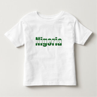 Nigeria Logo in the colors of the Nigerian flag Shirt