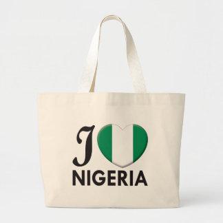 Nigeria Love Canvas Bag