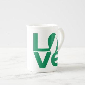 Nigeria LOVE Green Tea Cup