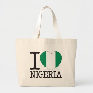 Nigeria Love v2 Canvas Bags