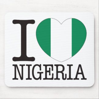 Nigeria Love v2 Mouse Pad