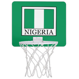 Nigeria Mini Basketball Hoop