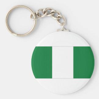 Nigeria National Flag Key Chains