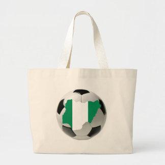 Nigeria national team tote bag