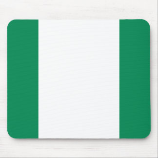 Nigeria National World Flag Mouse Pad