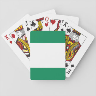 Nigeria National World Flag Playing Cards