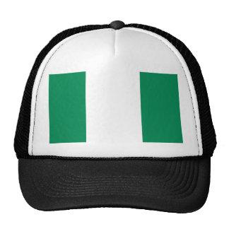 Nigeria National World Flag Trucker Hat