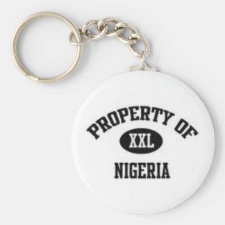 NIGERIA, NINGUNA MERCANCÍA 1 AFRICANO DEL LLAVERO