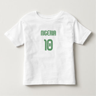 Nigeria No 10 soccer football Naija fans gifts Shirt