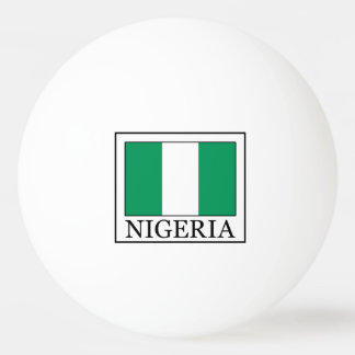 Nigeria Ping Pong Ball