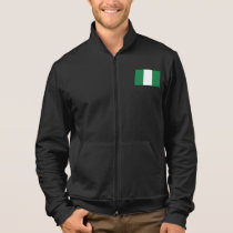 Nigeria Plain Flag Jacket