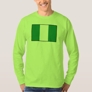 Nigeria Plain Flag T-Shirt