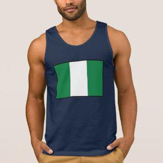 Nigeria Plain Flag Tanks