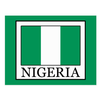 Nigeria Postcard