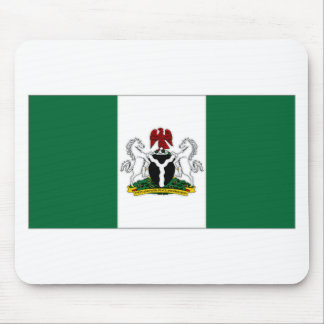 Nigeria President Flag Mouse Pads