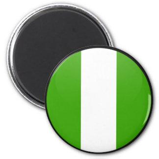 Nigeria quality Flag Circle Fridge Magnet