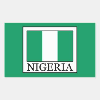Nigeria Rectangular Sticker