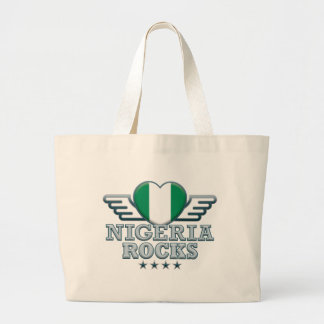 Nigeria Rocks v2 Canvas Bags