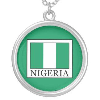 Nigeria Round Pendant Necklace