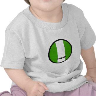 Nigeria Roundel quality Flag Tee Shirt