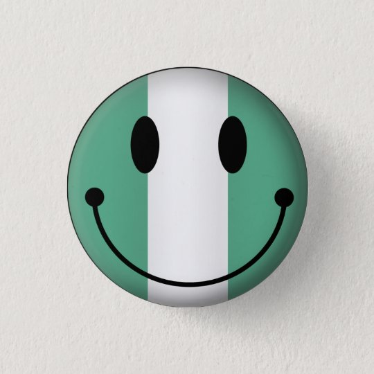 Nigeria Smiley Button