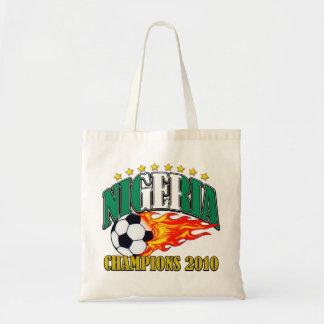 Nigeria Soccer Canvas Bags