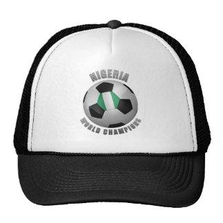 NIGERIA SOCCER CHAMPIONS HAT